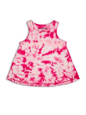 Toddlers  Little Girls TieDye Tank