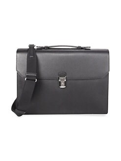 026b2295f837 QUICK VIEW. dunhill. Cadagan Flap Leather Briefcase