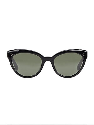 73098b3c9eb Oliver Peoples - Roella 55MM Mirrored Cat Eye Sunglasses - saks.com