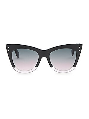 268f5bca5a8af Illesteva - Pamela 51MM Cat Eye Sunglasses - saks.com