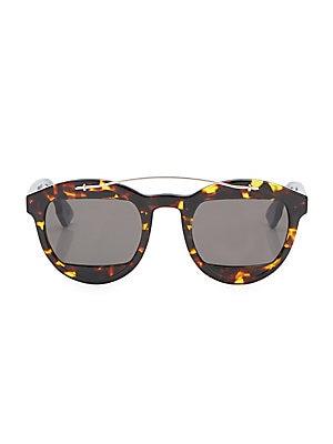 9c104319fd Karen Walker - Super Duper Strength Round Sunglasses Tortoise - saks.com