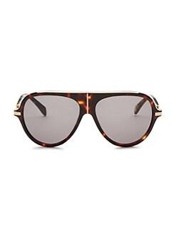 b05fa89deb4 Balmain - 60MM Aviator Sunglasses