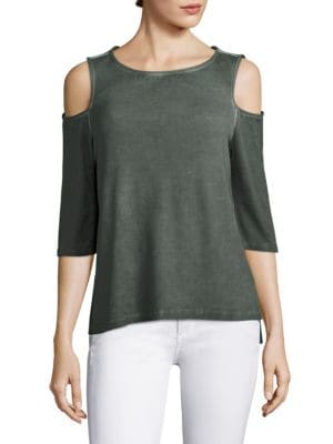 Albany Cold-Shoulder Top by Tart