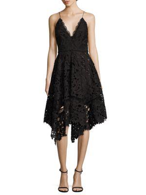 Azalia Lace Handkerchief Dress