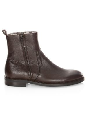 To Boot New York  Sheldon Shearling-Lined Boots