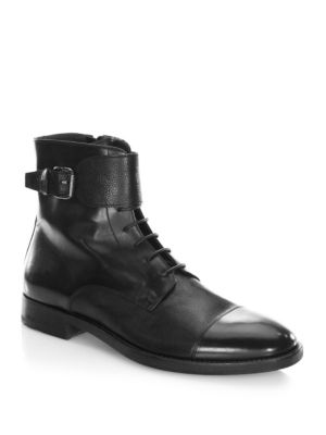 To Boot New York  Flyboy Leather Boot