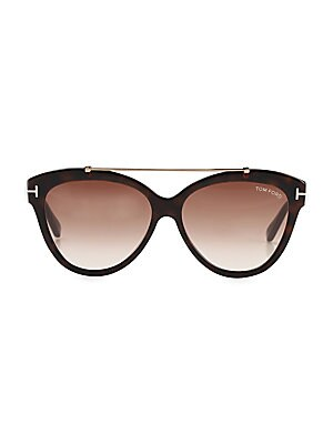 ed4f6436a8a41 Tom Ford - Amarra 55MM Square Sunglasses - saks.com