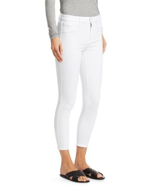 L'Agence Margot High-Rise Ankle Skinny Jeans | SaksFifthAvenue