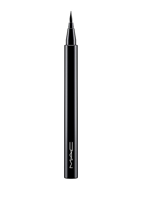 Image of A liquid eye liner pen with a precision brush tip that wears strong all day long for 24 hours. 0.02 oz. Imported. Animal Testing. MAC is working toward a cruelty-free world. MAC does not test on animals and never asks others to test on the brand's behalf-