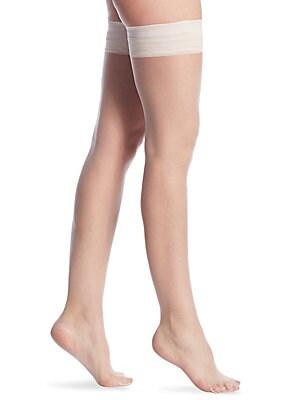 a42e5b143 Donna Karan - Whisper Weight Nudes Thigh High Tights - saks.com