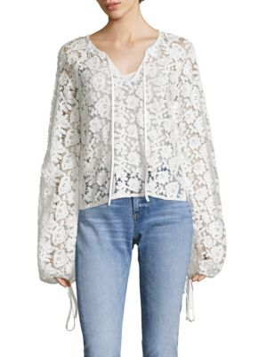 Chantalle Overlay Top by Elizabeth and James