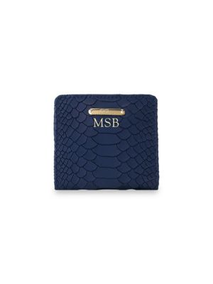 Gigi New York  Personalized Mini Leather Bi-Fold Wallet
