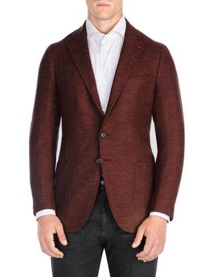 Herringbone Sportcoat by Isaia