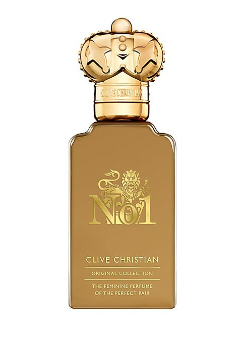 Image of A floral Oriental, with fruity top notes of plum, Mirabelle, white peach and bergamot which slowly and sensually unravel to reveal jasmine, carnation and a heart blooming with Rose, a flower symbolic of Aphrodite's gardens of love and beauty. A rich and c