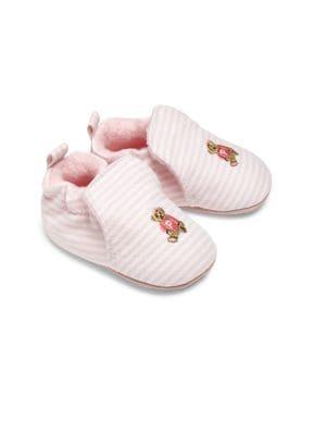 Babys Percie Stripe Oxford Booties