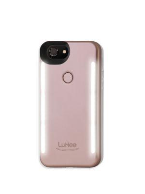 LUMEE Duo Led Lighting Iphone 6 Plus & 7 Plus Case in Rose Matte