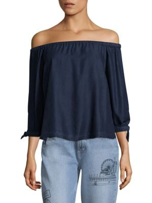 Antonia Off-the-Shoulder Blouse by PAIGE
