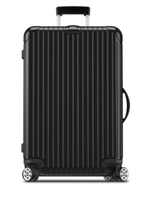 "Topas Stealth 32"" Multiwheel Luggage, Locks & Handle On Right, Black"