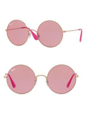 The Ja-Jo Round Sunglasses, Rose