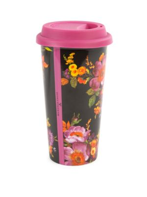 Flower Market Travel Cup