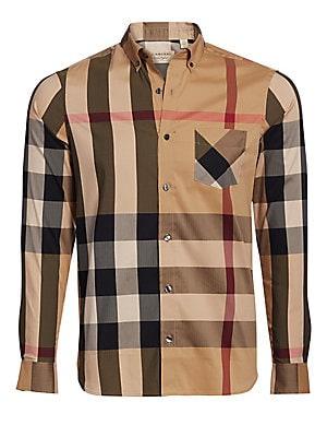 Mens Burberry Dress Shirts
