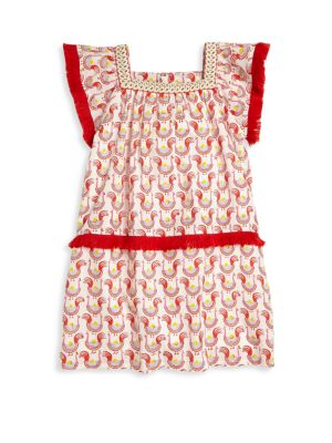 Toddlers Little Girls  Girls Oceana Fringe Dress