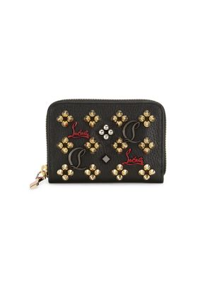 Leather Coin Wallet by Christian Louboutin