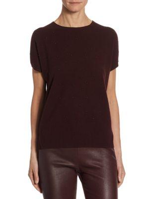 Cashmere-Blend Knit Top by Akris punto