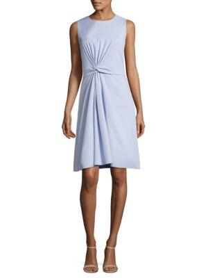Digiana Twist-Front Sheath Dress by BOSS