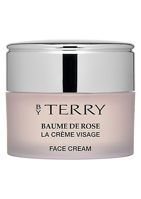 Image of The iconic Baume De Rose is now interpreted in a skincare formula. The texture of softness melts into the skin, with nourishing, moisturizing, soothing and protective properties that infuse your skin with every day well-being. Super-charged with Rose butt