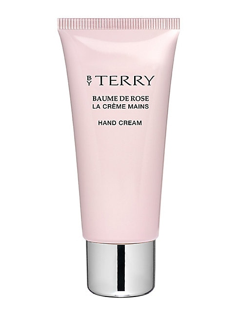 Image of The iconic Baume De Rose is now interpreted in a hand care formula. Deeply nourishing, softening and comforting, this incredibly rich cream envelops your hands in a protective, non-oily powdery veil, to repair, moisturize and leave the skin supple and bea