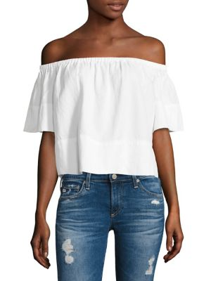 Sylvia Off-the-Shoulder Top by AG