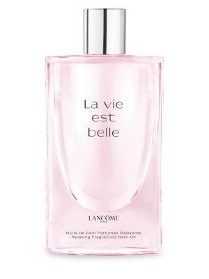 Lanc Me La Vie Est Belle Relaxing Fragrance Bath Oil