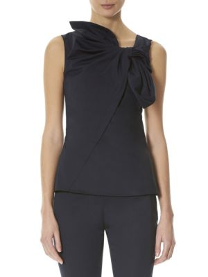 Sleeveless Cotton Blouse by Carolina Herrera