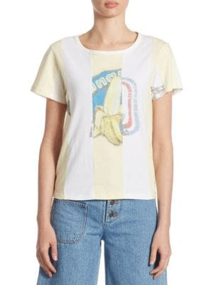 Graphic Cotton Tee by Marc Jacobs