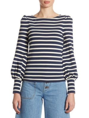 Bretton Striped Top by Marc Jacobs