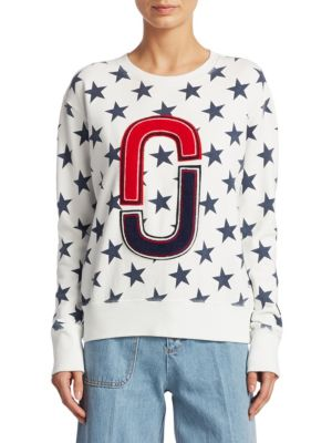 Cotton Star Sweatshirt by Marc Jacobs