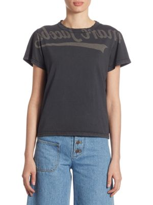 Cotton Selfie Tee by Marc Jacobs
