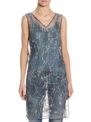 Sequined Tulle Tunic by Polo Ralph Lauren