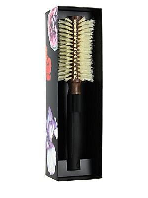 Image of A hair brush made with 100 percent natural boar bristles and wood that is ideal for medium-length and longer hair. Made in France. Cosmetics - Haircare > Saks Fifth Avenue. Christophe Robin.