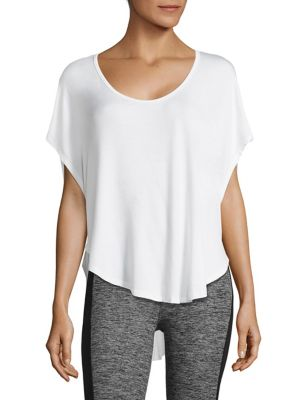 Swim Scalloped Tee by Beyond Yoga