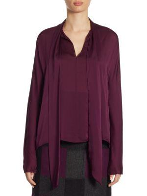Silk Dolman Sleeve Blouse by Akris