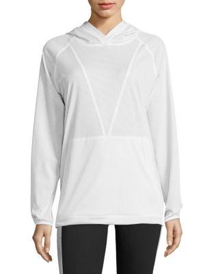 Mesh Hooded Sweatshirt by ALALA