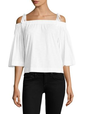 Sunset Off-the-Shoulder Top by Feel The Piece