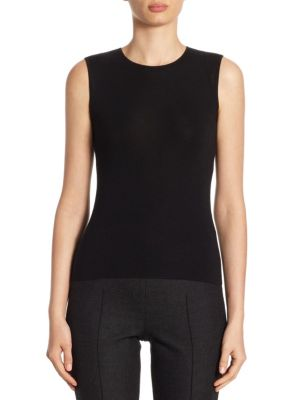Cashmere & Silk Tank by Akris