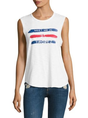 Tyler Jacobs x Feel The Piece St Tropez Tank Top by Feel The Piece