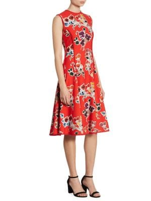 Buy Jason Wu Printed Crepe Dress online with Australia wide shipping