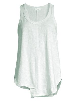 Shifted Shirttail Tank Top by Wilt