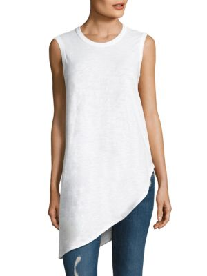 Slant Cotton Tunic by Wilt