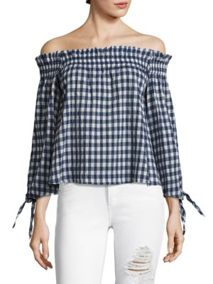 Pina Off-the-Shoulder Top by McGuire